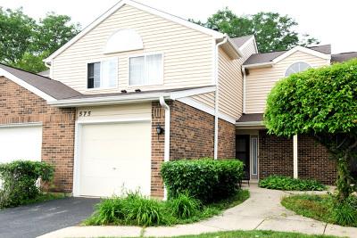 Carol Stream Condo/Townhouse New: 575 Canterbury Drive
