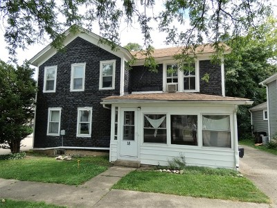 Crystal Lake Multi Family Home New: 18 Brink Street