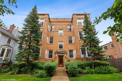 Condo/Townhouse New: 4421 North Hermitage Avenue #2N