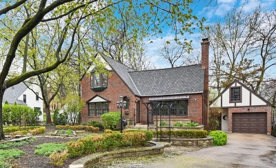 Glen Ellyn Single Family Home For Sale: 6 Ellyn Court