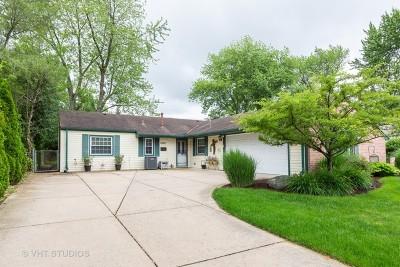 Oak Forest Single Family Home New: 5123 Elmwood Road