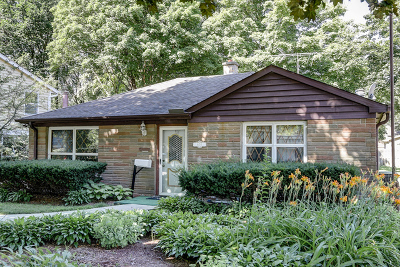 Libertyville Single Family Home Contingent: 605 Riverside Drive