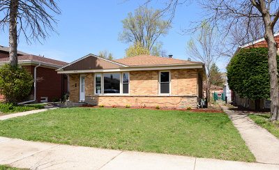 Skokie IL Single Family Home New: $325,000