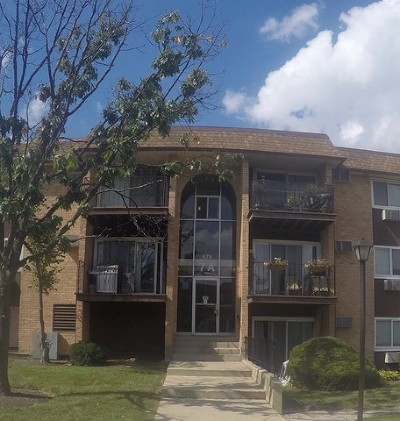 Hoffman Estates Condo/Townhouse New: 675 Heritage Drive #7-108