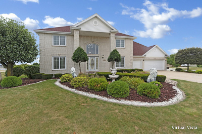 Tinley Park Single Family Home For Sale: 18301 Black Oak Avenue