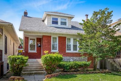 Portage Park Single Family Home New: 5349 West Waveland Avenue