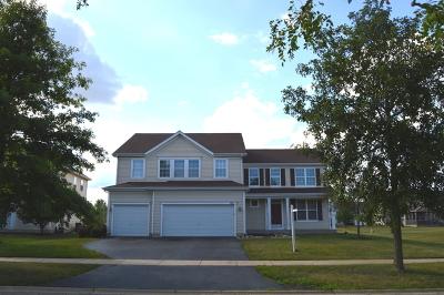 Oswego Single Family Home New: 821 Preston Lane