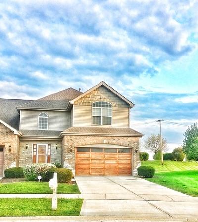 Plainfield Condo/Townhouse For Sale: 25525 West Cove Way