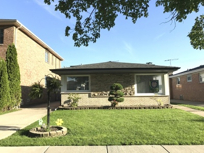 Single Family Home For Sale: 8333 West Maple Avenue