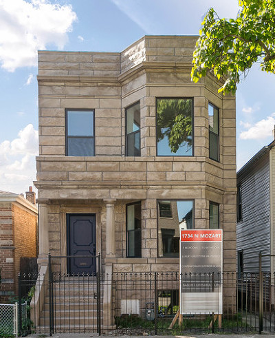 Single Family Home For Sale: 1734 North Mozart Street
