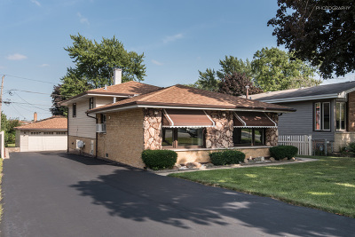 Hickory Hills Single Family Home New: 9411 South 81st Avenue