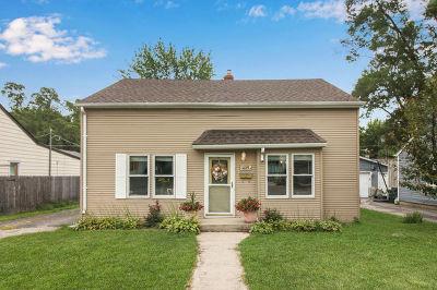 Mundelein Single Family Home Price Change: 409 South Prairie Avenue