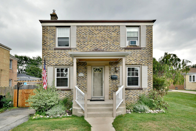 Chicago Single Family Home New: 7633 West Everell Avenue
