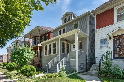 Chicago Single Family Home New: 5253 West Adams Street