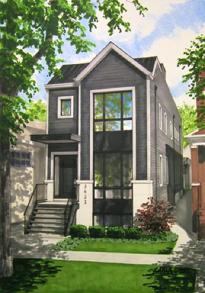 Single Family Home New: 3623 North Leavitt Street