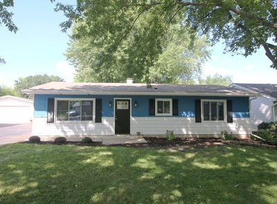 McHenry Single Family Home Contingent: 1709 Meadow Lane