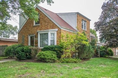 Morton Grove Single Family Home New: 8101 Parkside Avenue