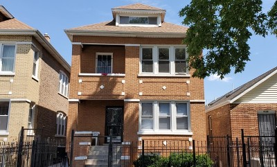 Chicago Multi Family Home New: 7137 South Fairfield Avenue