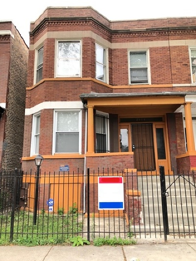 Chicago Multi Family Home New: 5414 South Wood Street