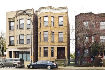 Chicago Multi Family Home New: 2605-07 West Chicago Avenue