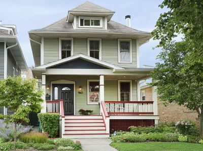 Portage Park Single Family Home New: 4863 West Berteau Avenue