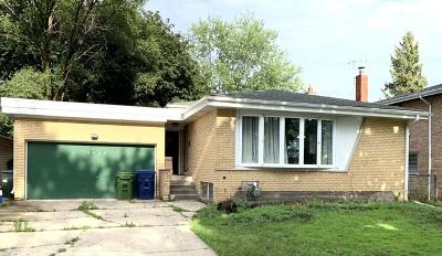 Oak Lawn Single Family Home New: 9835 South 51st Avenue