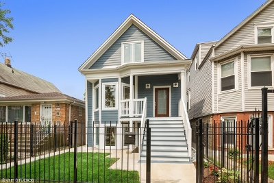 Single Family Home For Sale: 3016 North Albany Avenue
