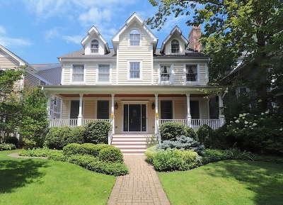 Wilmette Single Family Home New: 714 Linden Avenue