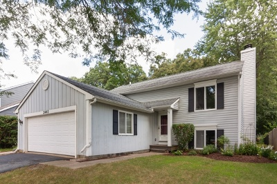 Aurora Single Family Home New: 2443 Red Bud Court