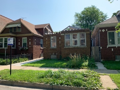 Cook County Single Family Home New: 6533 South Vernon Avenue