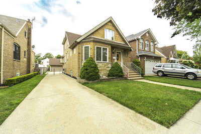 Chicago Single Family Home New: 5612 South Normandy Avenue