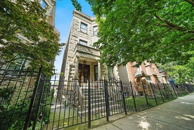 Chicago Multi Family Home New: 3240 West Evergreen Avenue