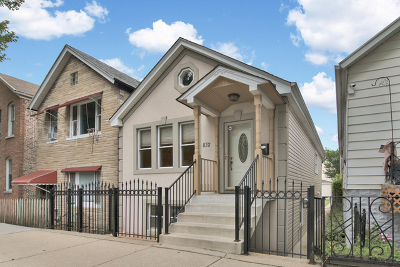 Chicago Single Family Home New: 832 West 34th Street