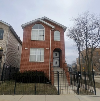 Chicago IL Single Family Home New: $190,000