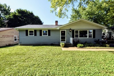 McHenry Single Family Home For Sale: 3213 West Kinley Boulevard