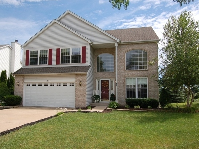 Plainfield Single Family Home New: 2114 Wesmere Lakes Drive