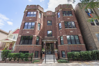Condo/Townhouse New: 5117 North Winchester Avenue #2N