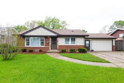 Tinley Park Single Family Home New: 7288 174th Street