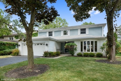 Glenview Single Family Home New: 1047 Meadowlark Lane