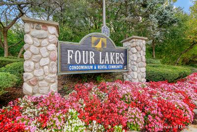 Lisle Condo/Townhouse New: 5526 E Lake Drive #D