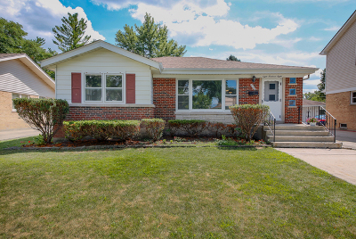 Wheaton Single Family Home For Sale: 808 Parkside Drive