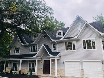 Wilmette Single Family Home New: 3101 Sprucewood Road
