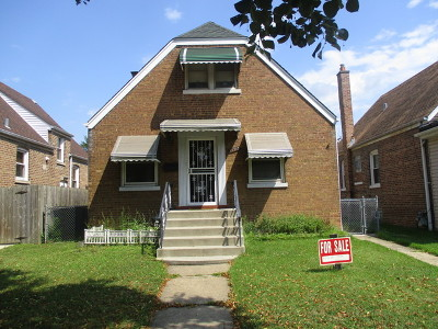 Chicago IL Single Family Home New: $135,900