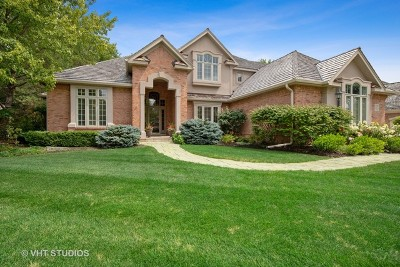 Libertyville Single Family Home New: 1508 Elderberry Drive