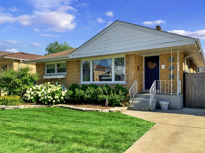 Cook County Single Family Home New: 7741 West Columbia Avenue