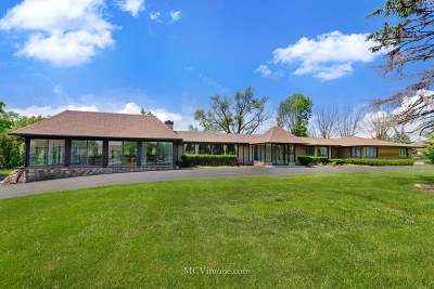 Oak Brook Single Family Home New: 3324 Roslyn Road