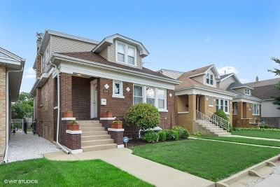 Chicago Single Family Home New: 5848 West School Street