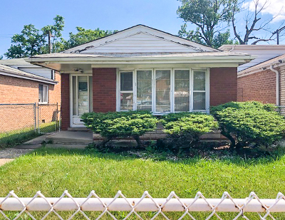 Chicago Single Family Home New: 9331 South Halsted Street