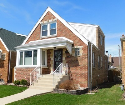 Chicago Single Family Home New: 2538 West 113th Street