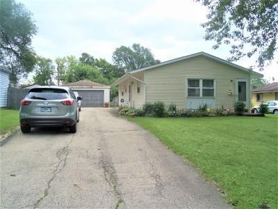 Carpentersville Single Family Home New: 1009 Tacoma Street